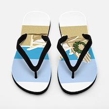 Cute California beach Flip Flops