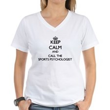 Keep calm and call the Sports Psychologist T-Shirt