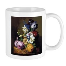 Peonies, Tulips & Daffodils Art Mugs