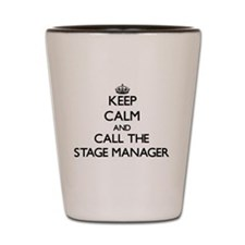 Cute Theater manager Shot Glass