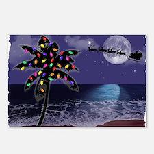 Cool Hawaiian christmas Postcards (Package of 8)