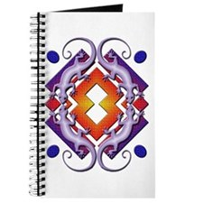 Purple Gecko Ring Journal