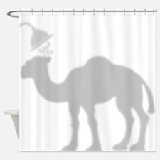 Camel Shadow Shower Curtain