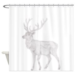 Shadow Elk Shower Curtain