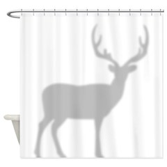 Buck Deer In The Shower Shower Curtain
