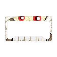 Mummy Face License Plate Holder