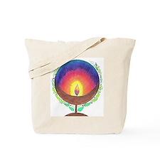 Rainbow Flame Tote Bag