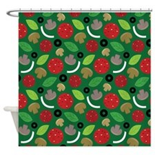 Pizza Lover Shower Curtain