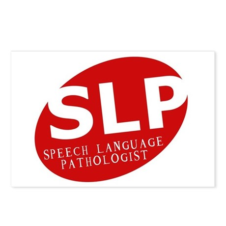 Speech Language Pathologist Postcards (Package of