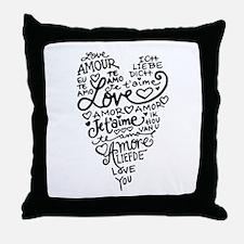 Cool Iching Throw Pillow