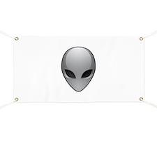 UFO Alien Banner