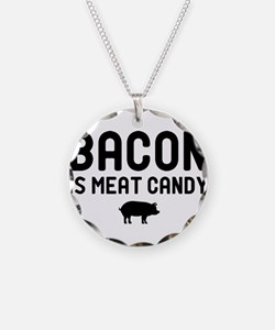 Bacon Meat Candy Necklace