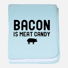 Bacon Meat Candy baby blanket
