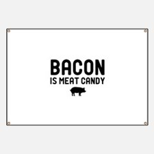 Bacon Meat Candy Banner
