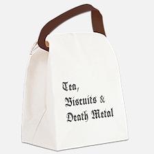 Death Metal Canvas Lunch Bag