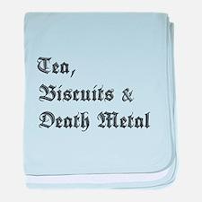 Death Metal baby blanket