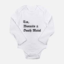 Death Metal Long Sleeve Infant Bodysuit