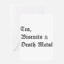 Death Metal Greeting Card