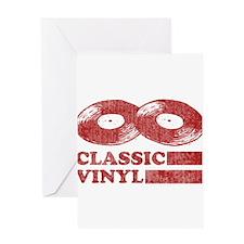 Classic Vinyl Greeting Card