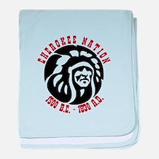 Cherokee Nation baby blanket
