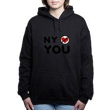 NY No Love Women's Hooded Sweatshirt
