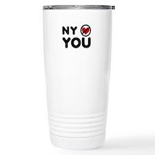 NY No Love Travel Mug