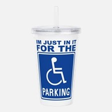 parking1.png Acrylic Double-wall Tumbler