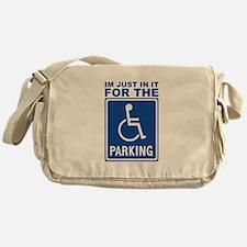 parking1.png Messenger Bag