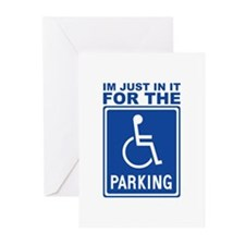parking1.png Greeting Cards (Pk of 20)
