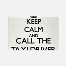 Keep calm and call the Taxi Driver Magnets