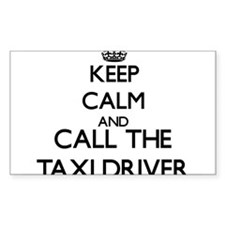 Keep calm and call the Taxi Driver Decal