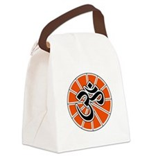 aum-white.png Canvas Lunch Bag