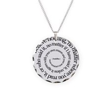 buddha-w.png Necklace Circle Charm