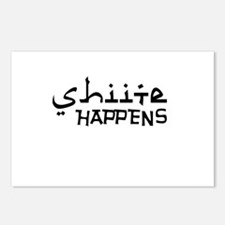 shiite-happens-v.png Postcards (Package of 8)