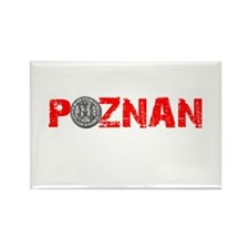 poznan-w.png Rectangle Magnet (100 pack)
