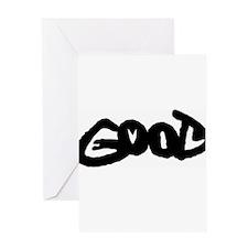 good-evil.png Greeting Card