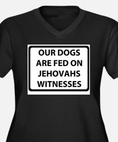 jehovah.png Women's Plus Size V-Neck Dark T-Shirt