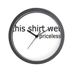 wetshirt2.png Wall Clock