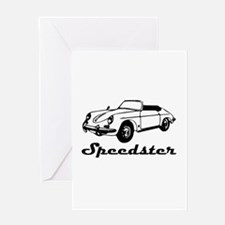 speedster-w.png Greeting Card