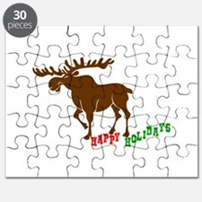 Moose Holidays Puzzle