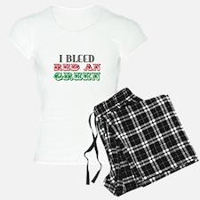 Red & Green Pajamas