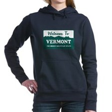 vermont1.png Women's Hooded Sweatshirt