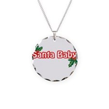santababy-n-w.png Necklace