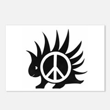 Porcupine Peace Postcards (Package of 8)