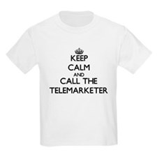 Keep calm and call the Telemarketer T-Shirt