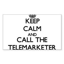 Keep calm and call the Telemarketer Decal