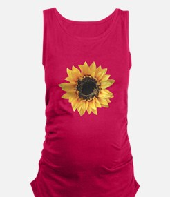 sunflower-n-w.png Maternity Tank Top