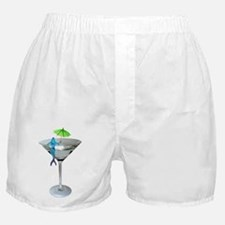 Mermaid Martini Boxer Shorts