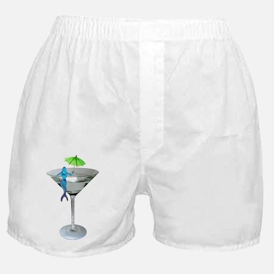 Mermaid Martini Boxer Shorts