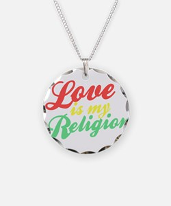 Love is my Religion Necklace